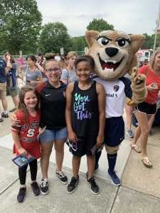 Chanel attended North Carolina Courage vs. Sky Blue FC - NWSL - National Women Soccer League on May 4th 2019 via VetTix