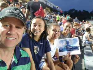 Martin attended North Carolina Courage vs. Sky Blue FC - NWSL - National Women Soccer League on May 4th 2019 via VetTix