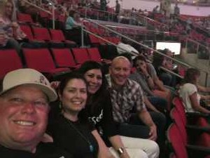Michael attended Carrie Underwood: the Cry Pretty Tour 360 - Standing Room Only on May 12th 2019 via VetTix