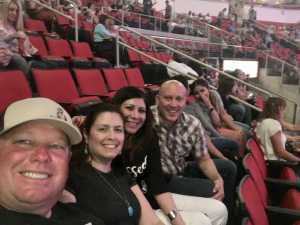 Linda Navy Vet attended Carrie Underwood: the Cry Pretty Tour 360 - Standing Room Only on May 12th 2019 via VetTix