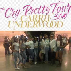 Roberto attended Carrie Underwood: the Cry Pretty Tour 360 - Standing Room Only on May 12th 2019 via VetTix