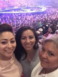 Ileana attended Carrie Underwood: the Cry Pretty Tour 360 - Standing Room Only on May 12th 2019 via VetTix