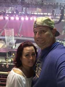 Pat and Tabitha  attended Carrie Underwood: the Cry Pretty Tour 360 - Standing Room Only on May 12th 2019 via VetTix