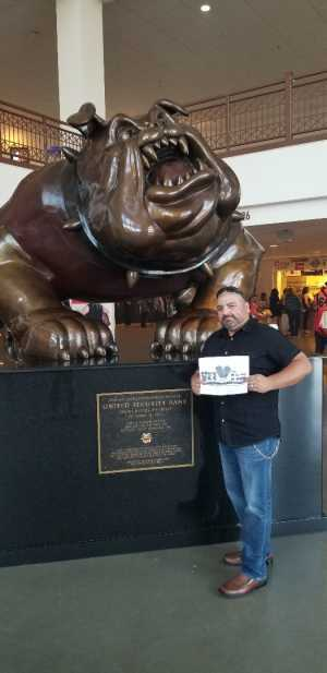 Juan Garcia  attended Carrie Underwood: the Cry Pretty Tour 360 - Standing Room Only on May 12th 2019 via VetTix