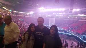 Bryan attended Carrie Underwood: the Cry Pretty Tour 360 - Standing Room Only on May 12th 2019 via VetTix