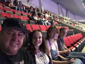 Thomas attended Carrie Underwood: the Cry Pretty Tour 360 - Standing Room Only on May 12th 2019 via VetTix