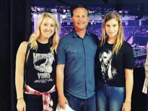 Alfred attended Carrie Underwood: the Cry Pretty Tour 360 - Standing Room Only on May 12th 2019 via VetTix