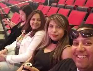 Marcos attended Carrie Underwood: the Cry Pretty Tour 360 - Standing Room Only on May 12th 2019 via VetTix