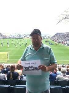 William attended Philadelphia Union vs Montreal Impact - MLS on Apr 20th 2019 via VetTix