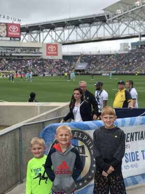 Matthew attended Philadelphia Union vs Montreal Impact - MLS on Apr 20th 2019 via VetTix