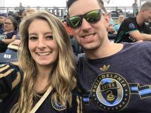 Patricia attended Philadelphia Union vs Montreal Impact - MLS on Apr 20th 2019 via VetTix