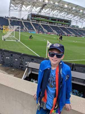 Joshua attended Philadelphia Union vs Montreal Impact - MLS on Apr 20th 2019 via VetTix