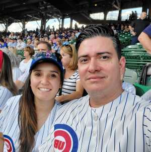 Roberto attended Chicago Cubs vs. Atlanta Braves - MLB on Jun 25th 2019 via VetTix