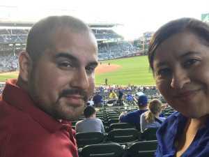 Josue attended Chicago Cubs vs. Atlanta Braves - MLB on Jun 25th 2019 via VetTix