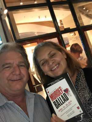 Michael attended Murder Ballad - Sunday Evening on Apr 21st 2019 via VetTix
