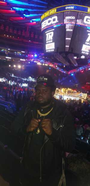 Freed attended Top Rank Boxing: Terence Crawford vs. Amir Khan - Boxing on Apr 20th 2019 via VetTix