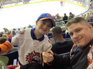 Eric attended 2019 Calder Cup First Round Home Game 2 Sound Tigers vs. Hershey Bears - Minor League on Apr 20th 2019 via VetTix