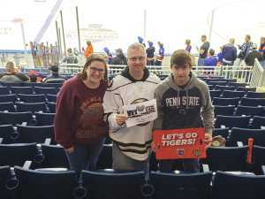 Chad attended 2019 Calder Cup First Round Home Game 2 Sound Tigers vs. Hershey Bears - Minor League on Apr 20th 2019 via VetTix