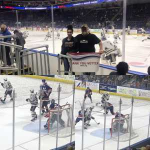 Bruce attended 2019 Calder Cup First Round Home Game 2 Sound Tigers vs. Hershey Bears - Minor League on Apr 20th 2019 via VetTix