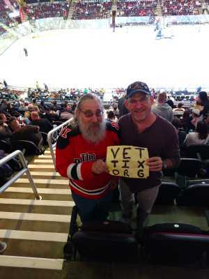 Doug attended Cleveland Monsters vs. Syracuse Crunch - AHL - 2019 Calder Cup Playoffs on Apr 23rd 2019 via VetTix