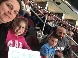 MICHELLE attended Cleveland Monsters vs. Syracuse Crunch - AHL - 2019 Calder Cup Playoffs on Apr 23rd 2019 via VetTix