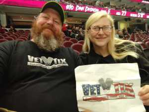 Jackie attended Cleveland Monsters vs. Syracuse Crunch - AHL - 2019 Calder Cup Playoffs on Apr 23rd 2019 via VetTix
