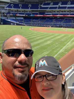 David attended Miami Marlins vs. Washington Nationals - MLB on Apr 21st 2019 via VetTix
