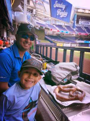 John attended Miami Marlins vs. Washington Nationals - MLB on Apr 21st 2019 via VetTix