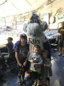 Joseph attended Tampa Bay Rays vs. Baltimore Orioles - MLB on Apr 18th 2019 via VetTix