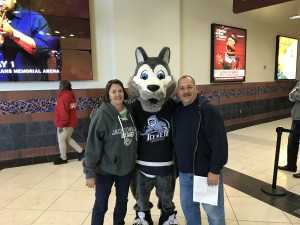 Donald attended Jacksonville Icemen vs. Florida Everblades - ECHL - 2019 Kelly Cup on Apr 20th 2019 via VetTix
