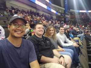 David attended Jacksonville Icemen vs. Florida Everblades - ECHL - 2019 Kelly Cup on Apr 20th 2019 via VetTix
