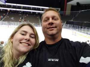 JOSEPH attended Jacksonville Icemen vs. Florida Everblades - ECHL - 2019 Kelly Cup on Apr 20th 2019 via VetTix