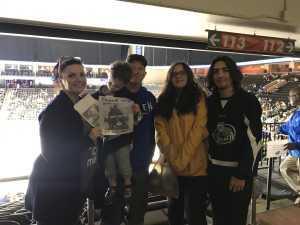 Celeste attended Jacksonville Icemen vs. Florida Everblades - ECHL - 2019 Kelly Cup on Apr 20th 2019 via VetTix
