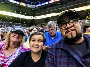 Mel Lo attended Arizona Rattlers vs. Nebraska Danger - IFL on May 4th 2019 via VetTix