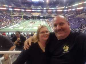 Donald attended Arizona Rattlers vs. Nebraska Danger - IFL on May 4th 2019 via VetTix