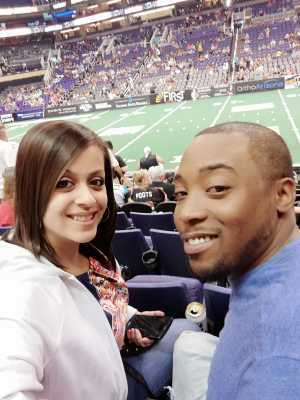 JASON attended Arizona Rattlers vs. Nebraska Danger - IFL on May 4th 2019 via VetTix