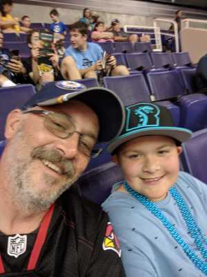 William attended Arizona Rattlers vs. Nebraska Danger - IFL on May 4th 2019 via VetTix