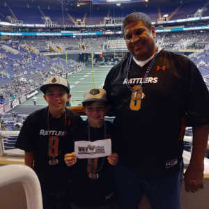 Mike attended Arizona Rattlers vs. Nebraska Danger - IFL on May 4th 2019 via VetTix