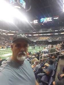 Stephen  attended Arizona Rattlers vs. Nebraska Danger - IFL on May 4th 2019 via VetTix