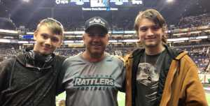 Robert attended Arizona Rattlers vs. Nebraska Danger - IFL on May 4th 2019 via VetTix