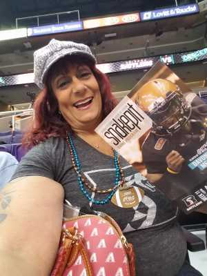 Barbara attended Arizona Rattlers vs. Nebraska Danger - IFL on May 4th 2019 via VetTix