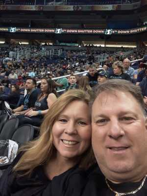 Patrick attended Arizona Rattlers vs. Nebraska Danger - IFL on May 4th 2019 via VetTix