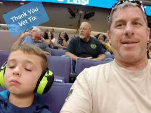Mark attended Arizona Rattlers vs. Nebraska Danger - IFL on May 4th 2019 via VetTix