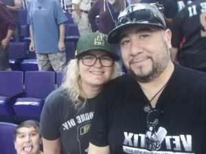 Mel Lo attended Arizona Rattlers vs. San Diego Strike Force - IFL on Jun 15th 2019 via VetTix
