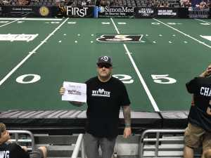 Christopher  attended Arizona Rattlers vs. San Diego Strike Force - IFL on Jun 15th 2019 via VetTix