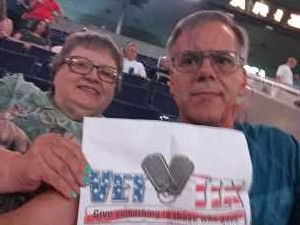 Richard attended Arizona Rattlers vs. San Diego Strike Force - IFL on Jun 15th 2019 via VetTix