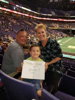 MIKE attended Arizona Rattlers vs. San Diego Strike Force - IFL on Jun 15th 2019 via VetTix