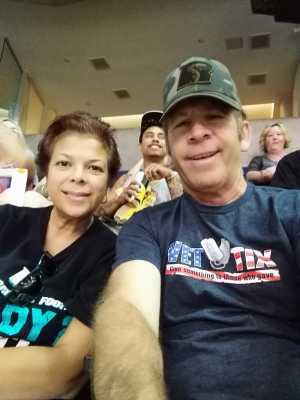 Paul attended Arizona Rattlers vs. San Diego Strike Force - IFL on Jun 15th 2019 via VetTix