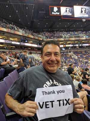 Ted attended Arizona Rattlers vs. San Diego Strike Force - IFL on Jun 15th 2019 via VetTix