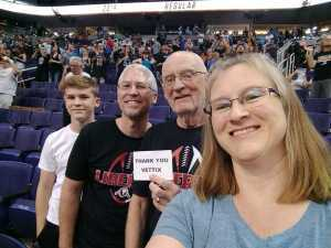 Rod attended Arizona Rattlers vs. San Diego Strike Force - IFL on Jun 15th 2019 via VetTix
